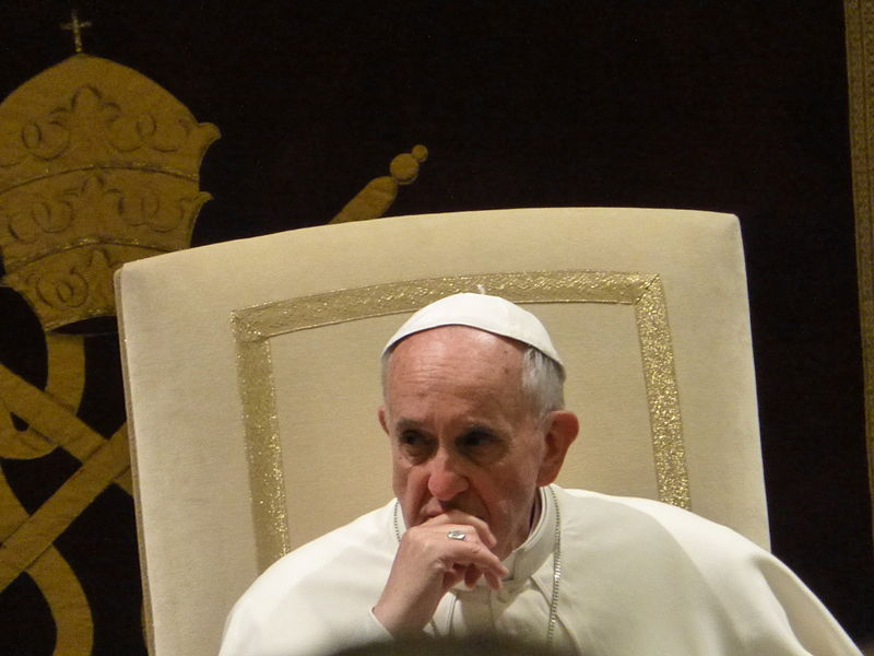 Papst Frankziskus. Quelle: Wikicommons / Christoph Wagener unter GNU 2.1